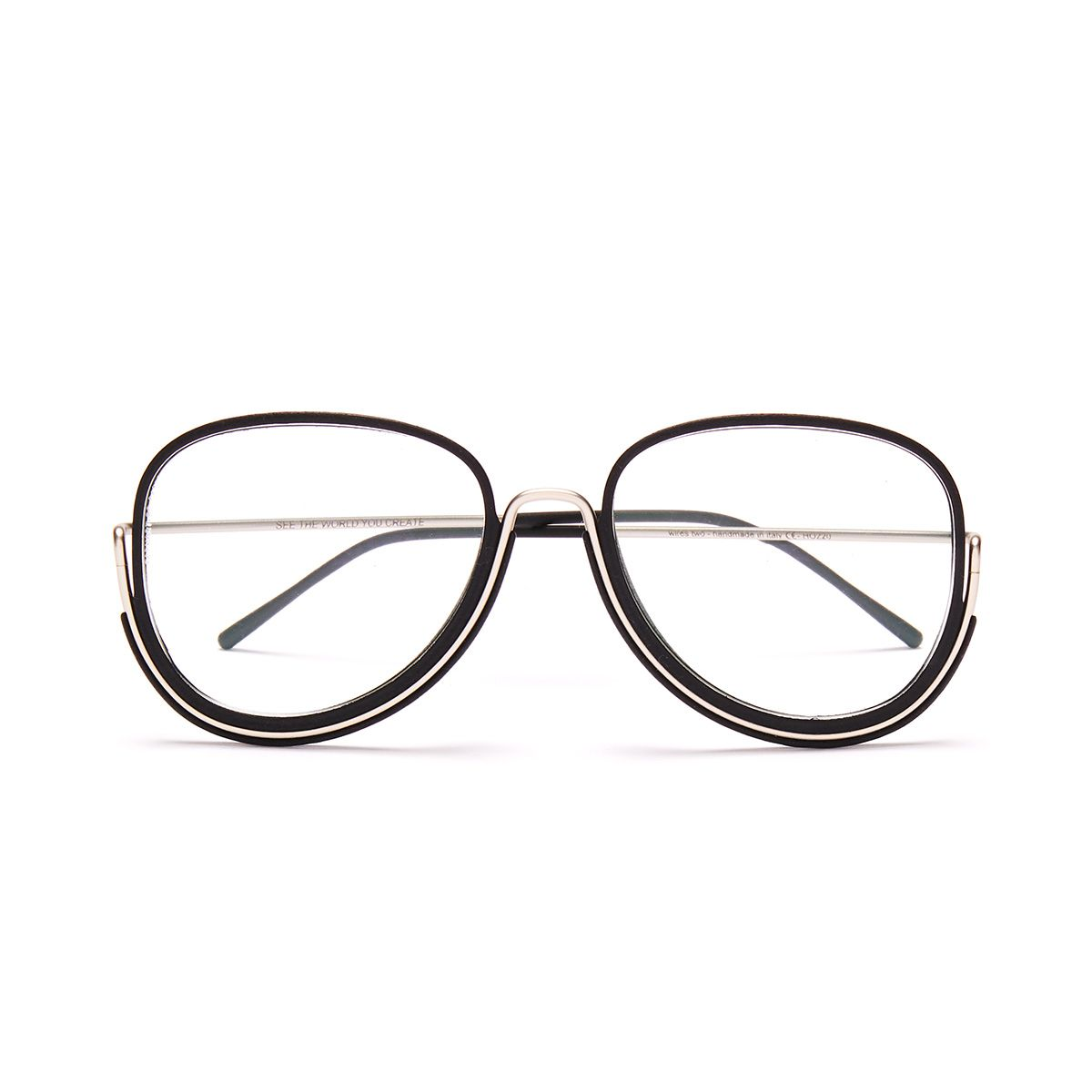 Wires Earhart - Silver/Black