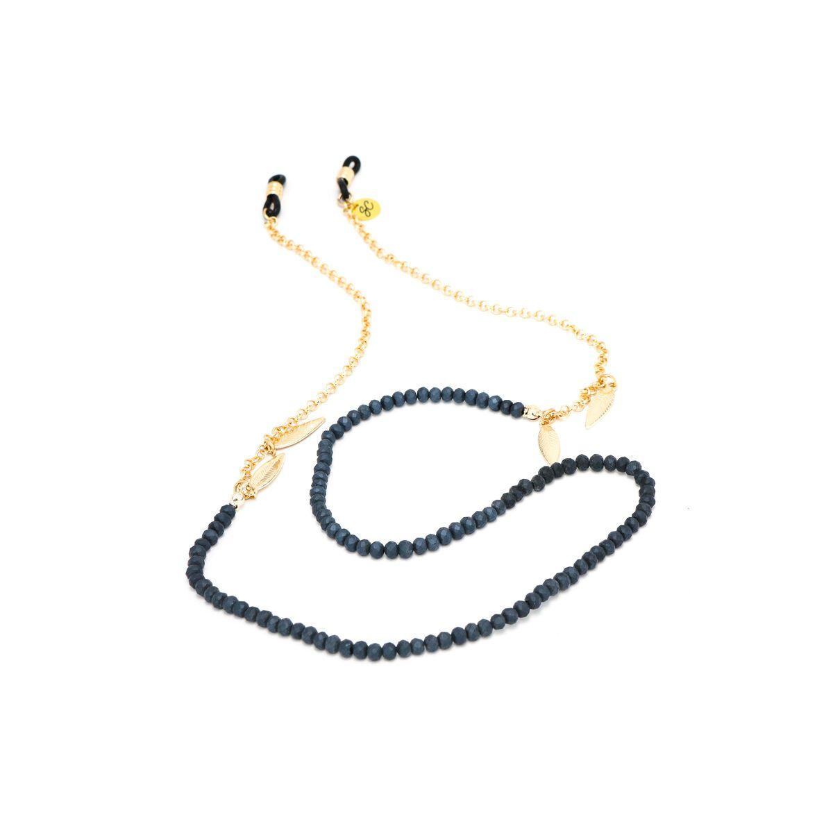 Sunny Cords Dark Blue Sunglass Chain - Bead It
